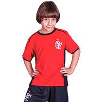 Camisa Infantil Masculina Flamengo Oficial Mirim
