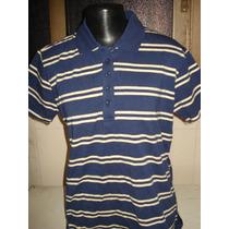 Camisa Polo Feminina Da Barred
