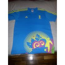 Blusa Adidas Voluntarios Copa Do Mundo 2014