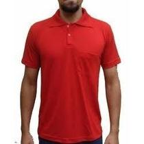 Camisa Polo Piquet Cores Masculina 100% Algodão Ou Poliester