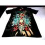 Camisa Ed Hardy Tattoo Style / Com Pedraria - Pronta Entrega