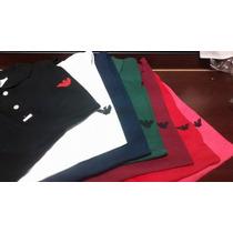 Camisa Polo Armani Importada Tamanho Grande Big (g1 Ao G3)