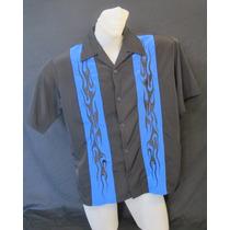 Camisa Imp. Charlie Two Half Men Rockabilly