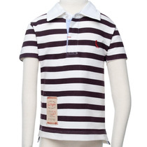 Camisa Polo Listras Rugby Roupa Infantil Reserva Mini