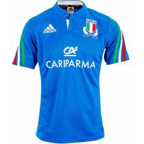 Camisa Seleção Da Italia Rugby Adidas Importada Ggg