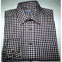 Camisa Social Marca Inglesa Marks And Spencer Twill Tam.38/p