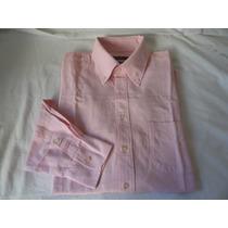 Camisa Zara Manga Longa-tamanho L- Rosa