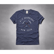 Camiseta Abercrombie Warriors New York Original