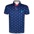 Camisa Polo Sergio K Azul Marinho Sk810