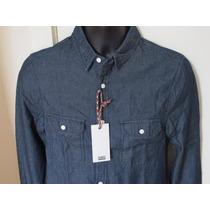 Camisa Jeans Fabric Tam. P Original Produto Inglês