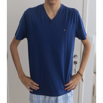 Camisa Masculina Tommy Hilfiger - Importada - Gola V -tam. P