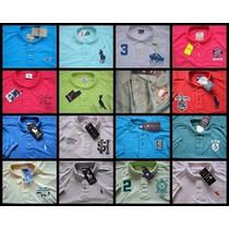 Kit 10 Camisas Polo Varias Marcas Atacado Revenda Qualidade
