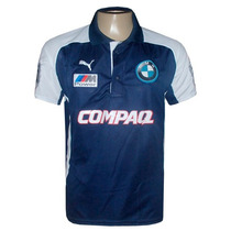 Camisa Polo Bmw Williams Team Azul