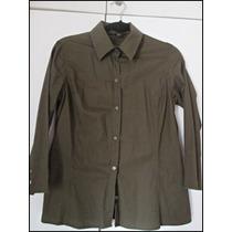 Camisa Feminina Zara Verde Escuro
