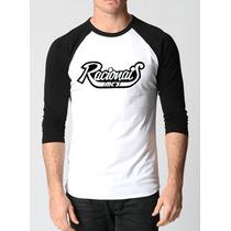 Camisa Racionais Raglan 3/4 Rap