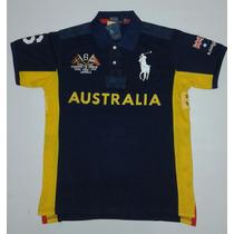 Camisa Polo Ralph Lauren Ediçoes Paises Austrália