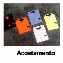 Camisa Camiseta Gola Polo Acostamento Masculina Original