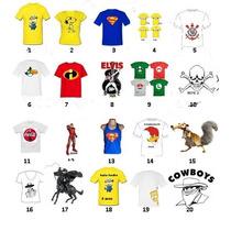 Camiseta Regata-baby Look Manga Comprida / Curta-gola V Gola