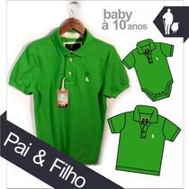 Pai & Filho Camisa Polo Sheepfyeld, Tipo Exportação Original