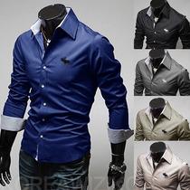 Camisa Social Slim Fit Abercrombie Importada