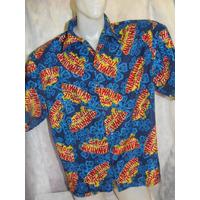 Camisa Havaiana Hawaii Tropical Batik Festa Pronta Entrega
