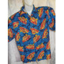 Camisa Importada Hawaii Tropical Batik Xl Gg Festa Carnaval