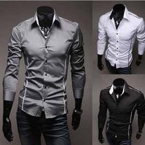 Camisa Social Slim Fit - Importadas (15 A 45 Dias P\ Chegar)