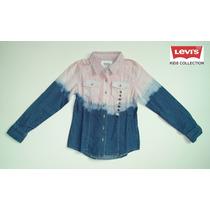 Camisa M/l Kacy Woven Top Levis Kids