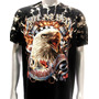 Camisa Survivor Rock Eagle Harley Chopper Moto Tam Gg
