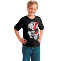 Camisa Infantil God Of War - Kratos