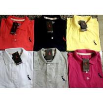 Camisas Polo Varias Marcas Kit 5 Peças!! Revenda Atacado!!