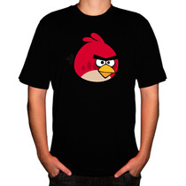 Camisa Game Angry Birds
