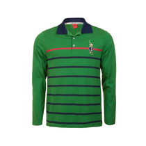 Camisa Polo Stripe Manga Longa - Club Polo Collection