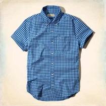 Camisa Xadrez Masculina Social Abercrombie E Hollister