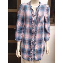 Camisao Feminino 100% Algodao Made In India Tam M