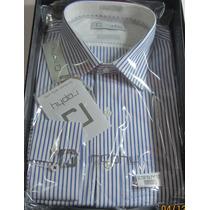 1 Kit 2 Camisas Raphy Ref.511522. Ml Tam. 42(4) List Az 2