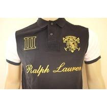 Camisa Gola Polo Custom Fit Da Ralph Lauren Masculina