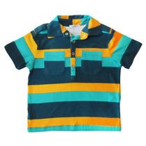 Camiseta Polo Rugby Verde Com Bolsos - Tyrol