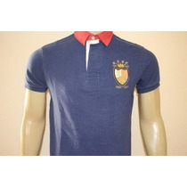 Camisa Gola Polo Custom Fit Masculina Polo Ralph Lauren