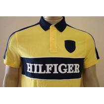 Camisa Polo Tommy Hilfiger Custom Fit - Bordada Masculina