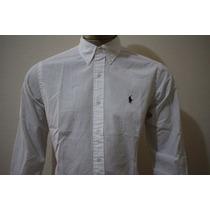 Camisa Manga Longa Lisa Classic Fit Polo Ralph Lauren