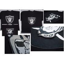 Camisa Camiseta Blusa Shield Escudo Brasão Oakland Raiders