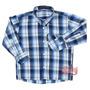 Camisa Infantil Xadrez Manga Longa - Rodeo Western