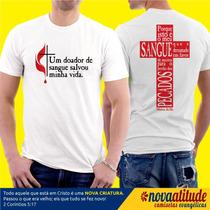 Camisa Evangélica Um Doador De Sangue Salvou Minha Vida