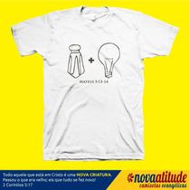 Camisa Evangélica Sal E Luz Do Mundo