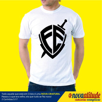 Camiseta Evangelica Fé