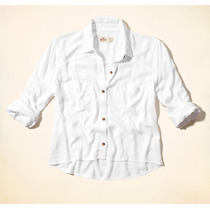 Camisa Hollister Feminina Blusa Camiseta Original Em Estoque