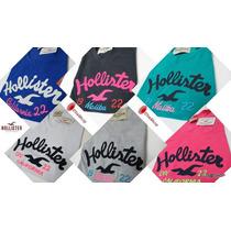 Camiseta Feminina Hollister/ Blusinhas Hollister/ Kit C/ 10