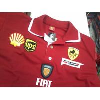 Linda ... Camisa Polo Ferrari Gola Dupla - Modelo Novo