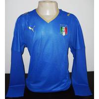Camisa Seleção Da Italia Home Modelo De Jogo Importada
